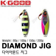 DIAMOND JIG 80g 100g 150g 200g / 다이아몬드 지그 80g 100g 150g 200g