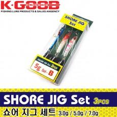 SHORE JIG Set / 쇼어 지그 세트